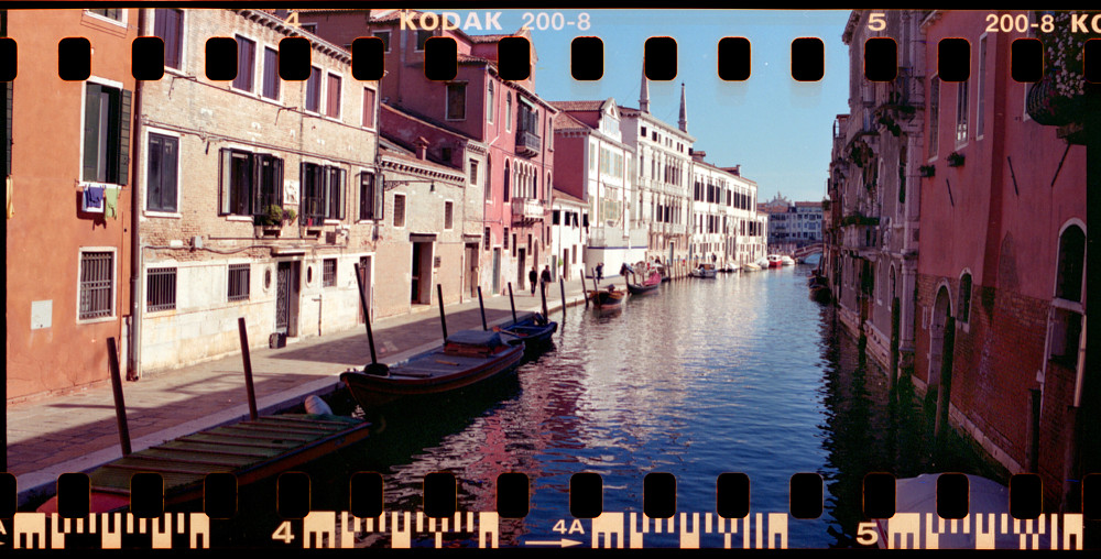 Shot in Venice with 135 film Kodak Gold 200 in Pentax 67 - 35mm film adapted to medium format with the FAK135 kit.
